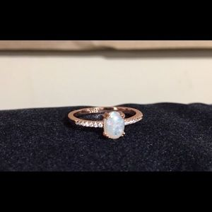 Wedding / Engagement S925 - Rose Gold Plated Ring